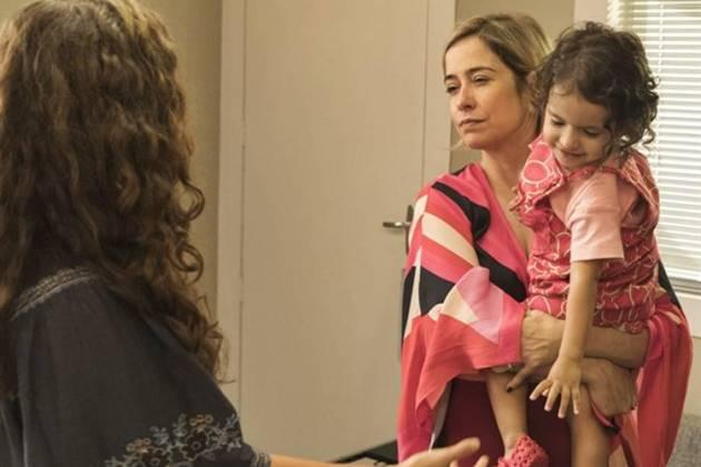 Malhação - Lígia e Rita se desentendem (Globo/Victor Pollak)