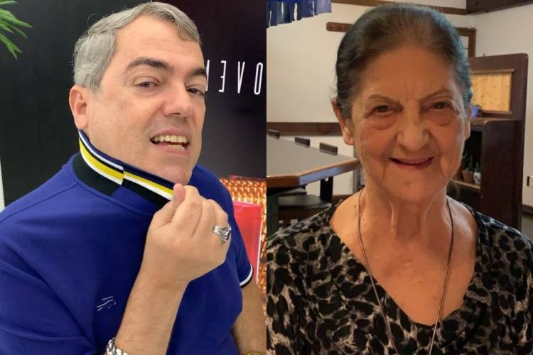Mãe de Marco Antonio de Biaggi, o cabeleireiro dos artistas, sofre queda e passa por cirurgia