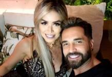 Rafaella Ribeiro e Latino reprodução Instagram