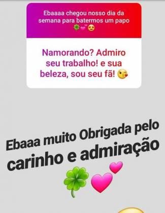 Rafaella Ribeiro Instagram stories