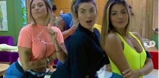 Tati Dias Thaise Teixeira e Hariany Almeida reprodução Play Plus