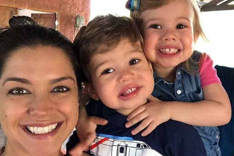 Thais Fersoza, Teodoro e Melinda - Reprodução: Instagram