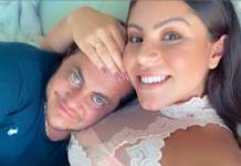 Thammy Miranda e a esposa Andressa Ferreira reprodução Instagram