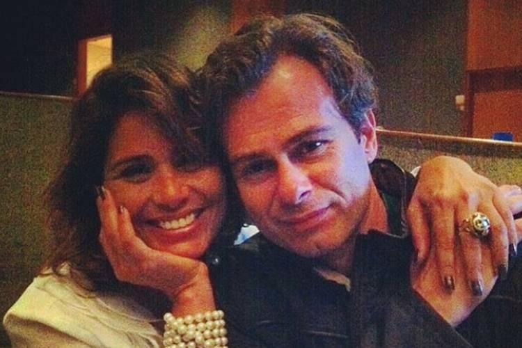João Vitti celebra 25 anos com Valéria Alencar e a pede em casamento