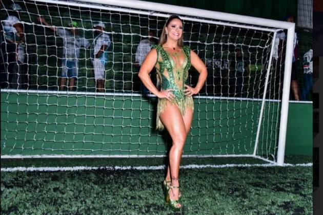Viviane Araujo Fotos Leo Franco AgNews