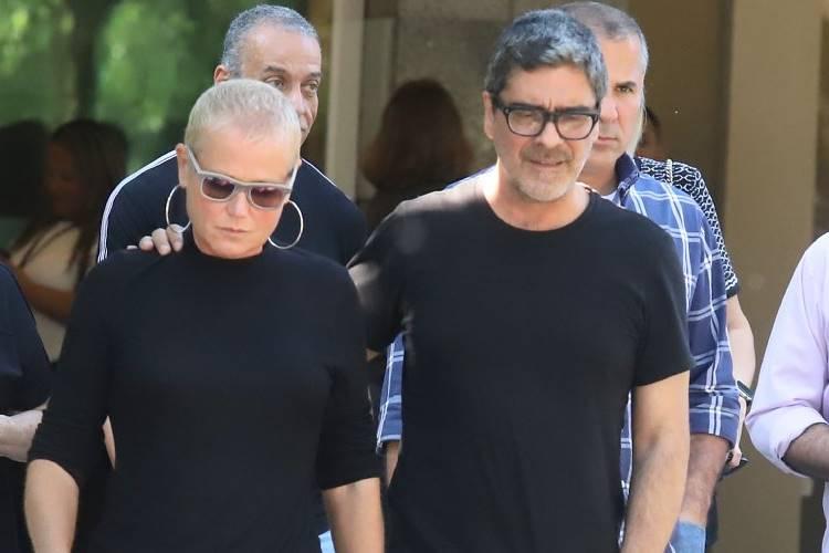 Xuxa e Junno (Daniel Pinheiro/AgNews)
