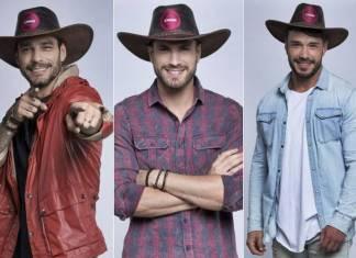 A Fazenda 11 - Diego - Guilherme - Lucas (Antonio Chahestian/ Record TV)
