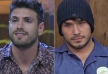 A Fazenda 11 - Guilherme e Lucas (Reprodução/Record TV)