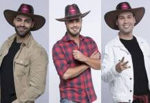 A Fazenda 11 - Netto - Rodrigo - Viny (Antonio Chahestian/ Record TV)