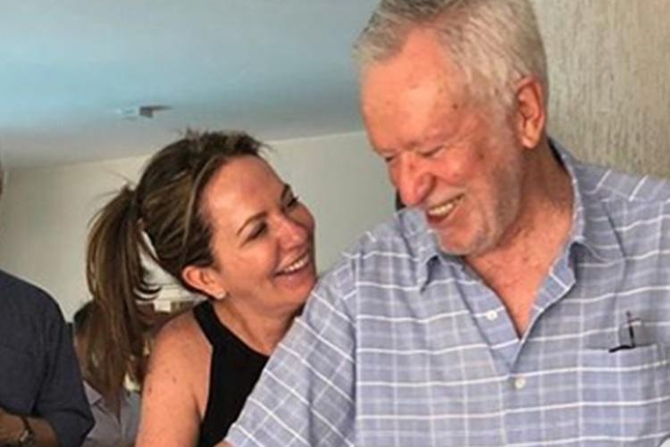 Alexandre Garcia  comemora casamento aos 79 anos