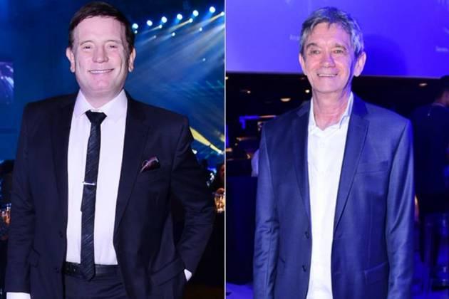 Cabrini e Serginho (Leo Franco / AgNews)