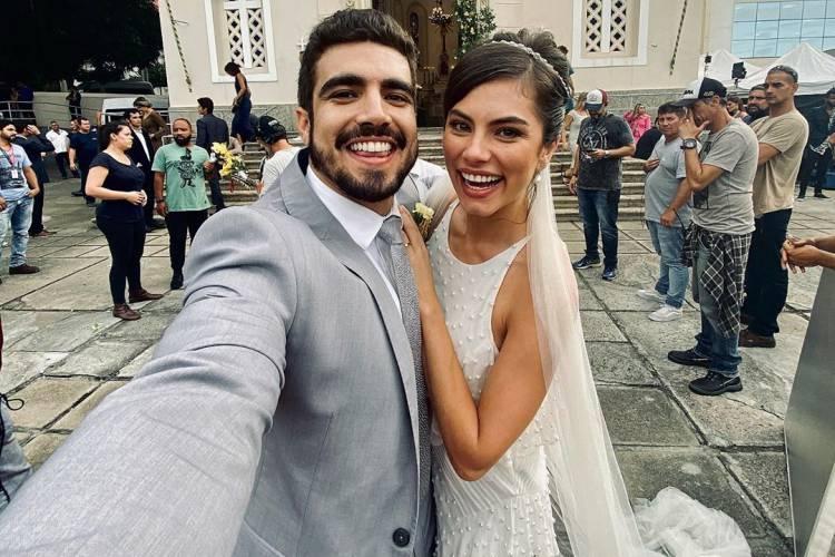 """Caio Castro faz agradecimento após o fim de 'A Dona do Pedaço': """"Final Feliz"""""""