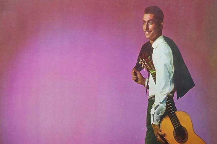 Cantor Silvinho, foto reprodução capa de disco