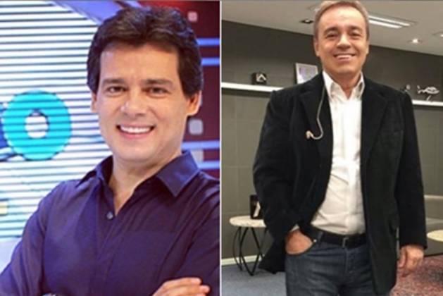 Celso Portiolli e Gugu Liberato reprodução Instagram e monetagem Área Vip