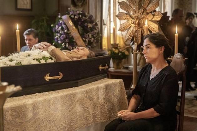Éramos Seis - Julio morre (Globo/Paulo Belote)