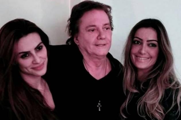Cleo, Fábio Jr e Tainá Galvão - Reprodução