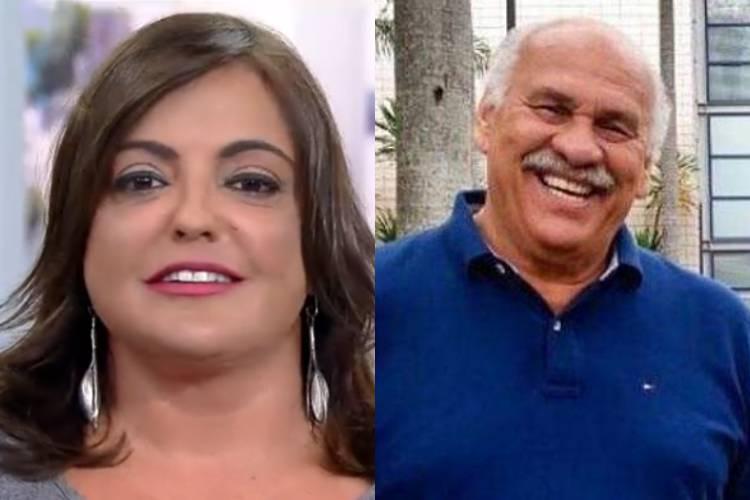 Antigos concorrentes, Márcio Canuto vira segurança de Fabíola Reipert