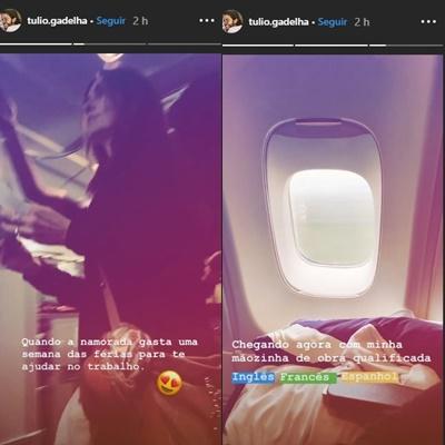Fátima Bernardes / reprodução Stories Instagram