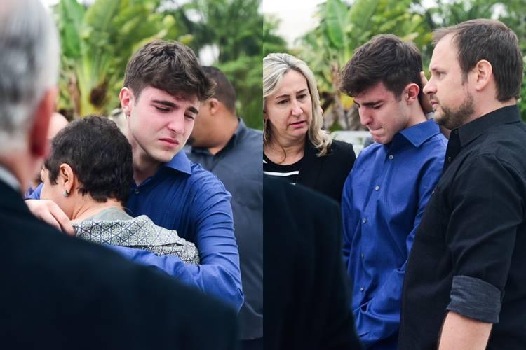 """""""Vou honrar o que meu pai me ensinou"""", declara filho de Gugu Liberato"""