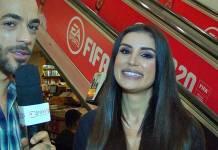 Gaby Cabrini conversa com a reportagem do Área VIP