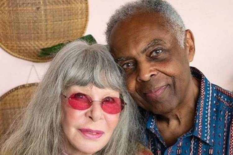 Após anos, Gilberto Gil encontra Rita Lee para projeto especial