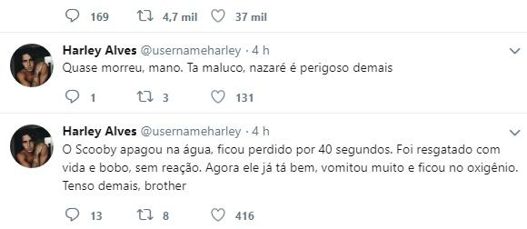 Harley Alves reprodução Twitter