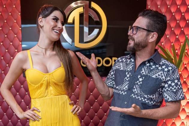 Hudson com a mulher(Paulo Pedron)