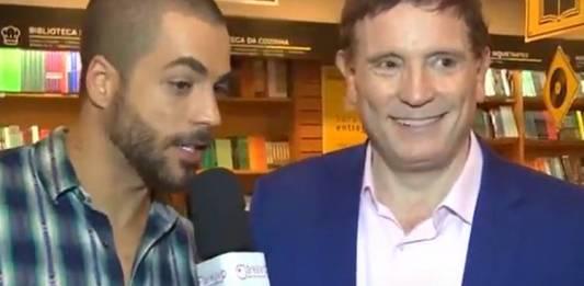 Jan Rios entrevista Roberto Cabrini/ÁreaVIP