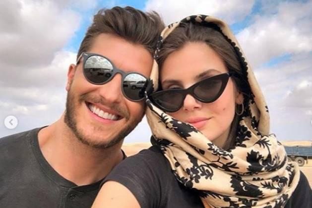 Klebber Toledo e Camila Queiroz reprodução Instagram