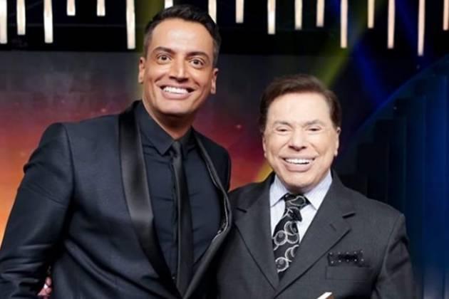 Leo Dias e Silvio Santos reprodução Instagram