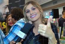 Lívia Andrade conversa com o Área VIP