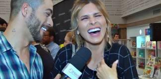 Lívia Andrade faz revelações para a reportagem do Área VIP