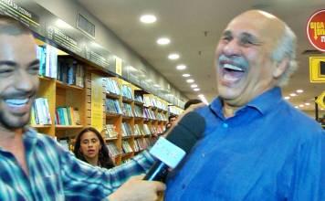 Márcio Canuto em entrevista ao repórter Jan Rios do Área VIP