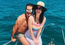 Marcos Pasquim e Mariana Brito reprodução Instagram