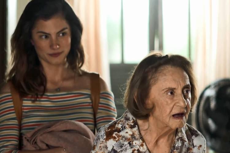 A Dona do Pedaço: Matilde revela segredo à Maria da Paz