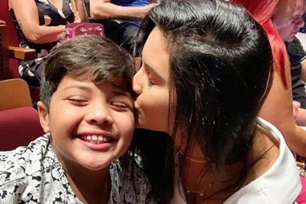 Mileide Mihaile e filho Yhudy reprodução Instagram