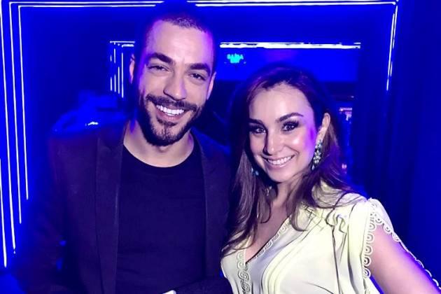 Millena Machado e Jan Rios do Área VIP