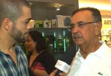 Percival de Souza em entrevista ao repórter Jan Rios do Área VIP