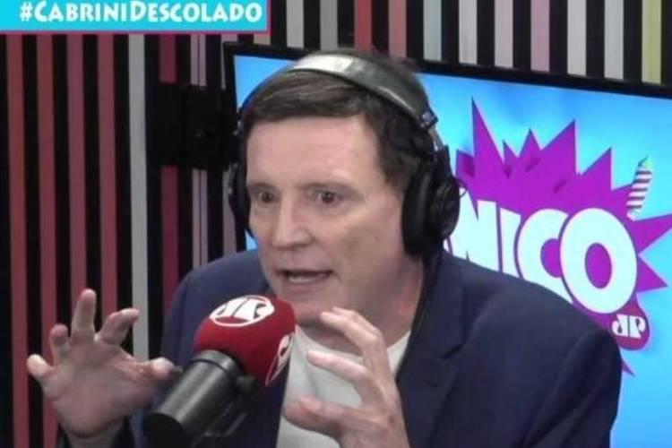 """Roberto Cabrini fala sobre Bolsonaro e Lula: """"São irmãos e nutrem uma paixão um pelo outro"""""""