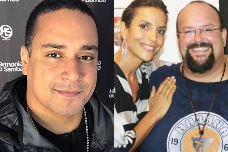 """Xanddy lamenta morte do irmão de Ivete Sangalo: """"Descanse em paz"""""""