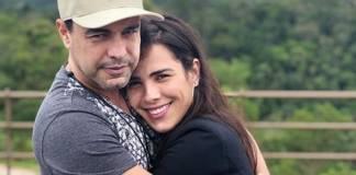 Zezé Di Camargo e Wanessa Camargo reprodução Instagram