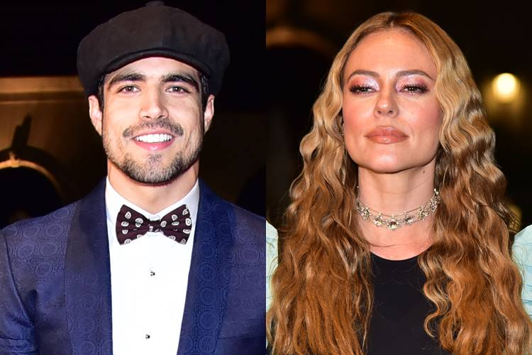 Paolla Oliveira e Caio Castro roubam a cena em baile de gala; confira looks dos famosos