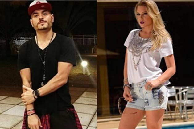 Carlinhos Mendigo e Aline Hauck reprodução Instagram