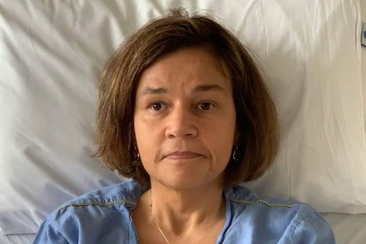 Claudia Rodrigues se pronuncia após boato de sua morte