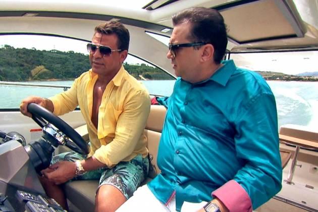 Eduardo Costa e Geraldo Luis (Divulgação/Record TV)