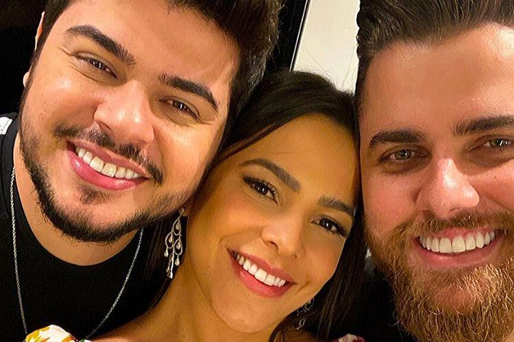 Ex-BBB Emilly Araújo reencontra sertanejos Zé Neto e Cristiano e faz revelação inusitada sobre a dupla