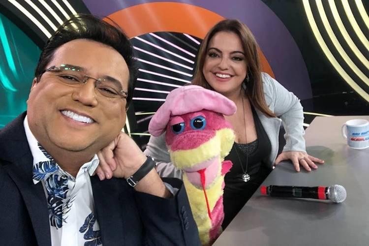Geraldo Luís lamenta ausência de Fabíola Reipert ao vivo