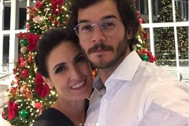 Fátima Bernardes e Túlio Gadêlha reprodução Instagram