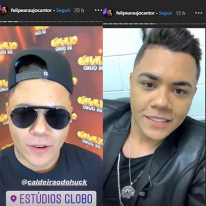 Felipe Araujo / reprodução Instagram