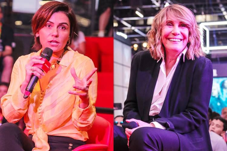 Giovanna Antonelli e Renata Sorrah falam sobre as personagens Jade e Nazaré Tedesco